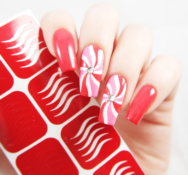 Simple Wave Nail Vinyls - Snail Vinyls  - 5