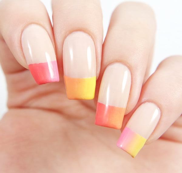 French Tip Nail Vinyls