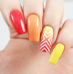 Right Angle Nail Stencils - Snail Vinyls  - 5