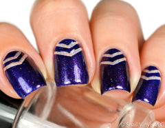 Small Single Chevron Nail Vinyls - Snail Vinyls  - 1