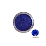 Mitty SUPER Chrome Nail Art Powder- Sapphire