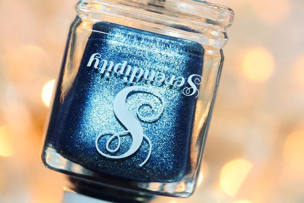 Sequins and Bowties Serendipity Nail Polish - Snail Vinyls  - 4
