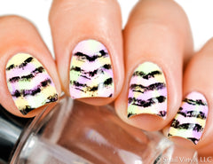 Single Chevron Nail Vinyls - Snail Vinyls  - 1