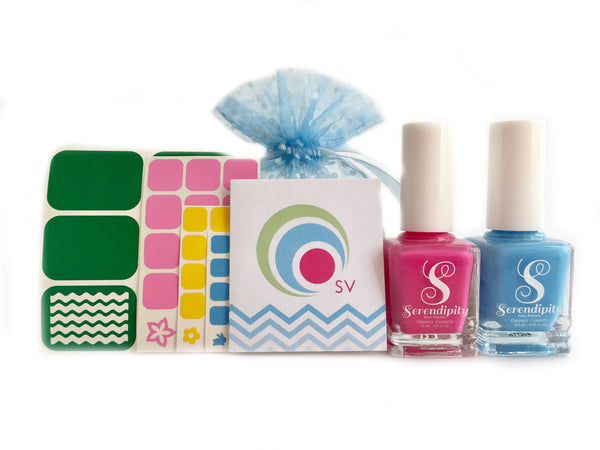 Spring Polish Nail Art Gift Set