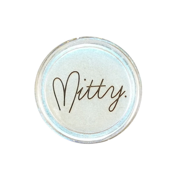 Mitty Chrome Nail Art Powder- Blue Bullet