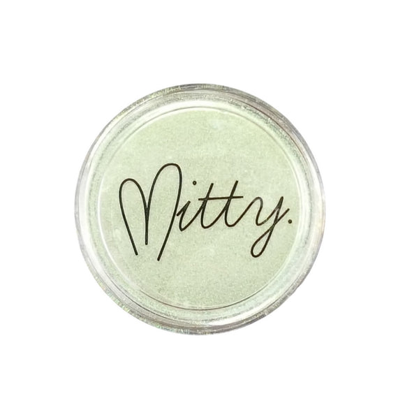 Mitty Chrome Nail Art Powder- Green Menace