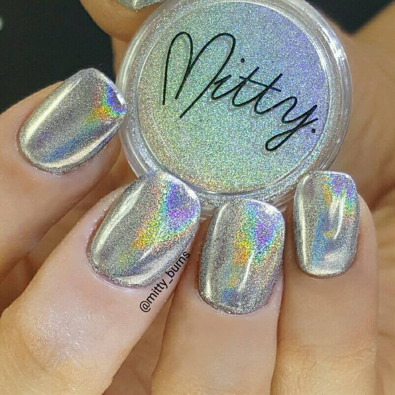 Mitty Magical Fairy Dust Holo Nail Art Powder – Snail Vinyls