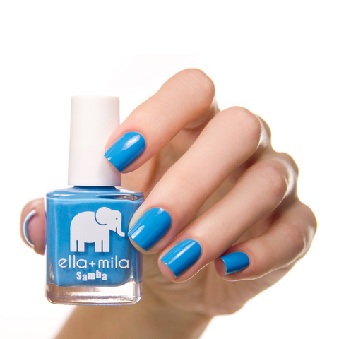 Ocean Air Ella + Mila Nail polish