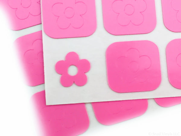 Daisy Flower Nail Decals - Snail Vinyls  - 6