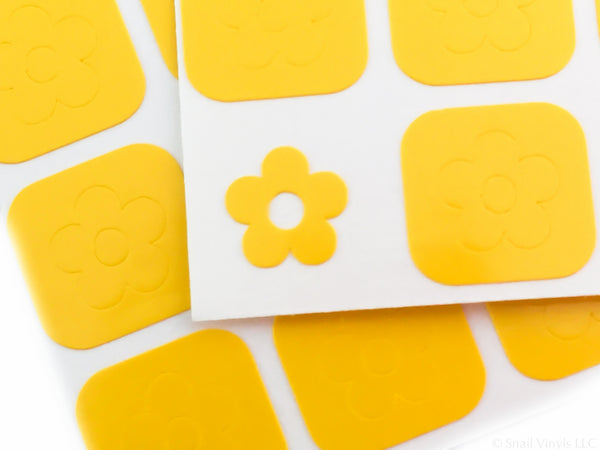 Daisy Flower Nail Decals - Snail Vinyls  - 7
