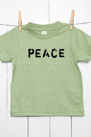 PEACE - Organic Cotton Toddler T Shirt