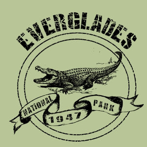Everglades National Park Gator - Children's Organic Cotton T-Shirt
