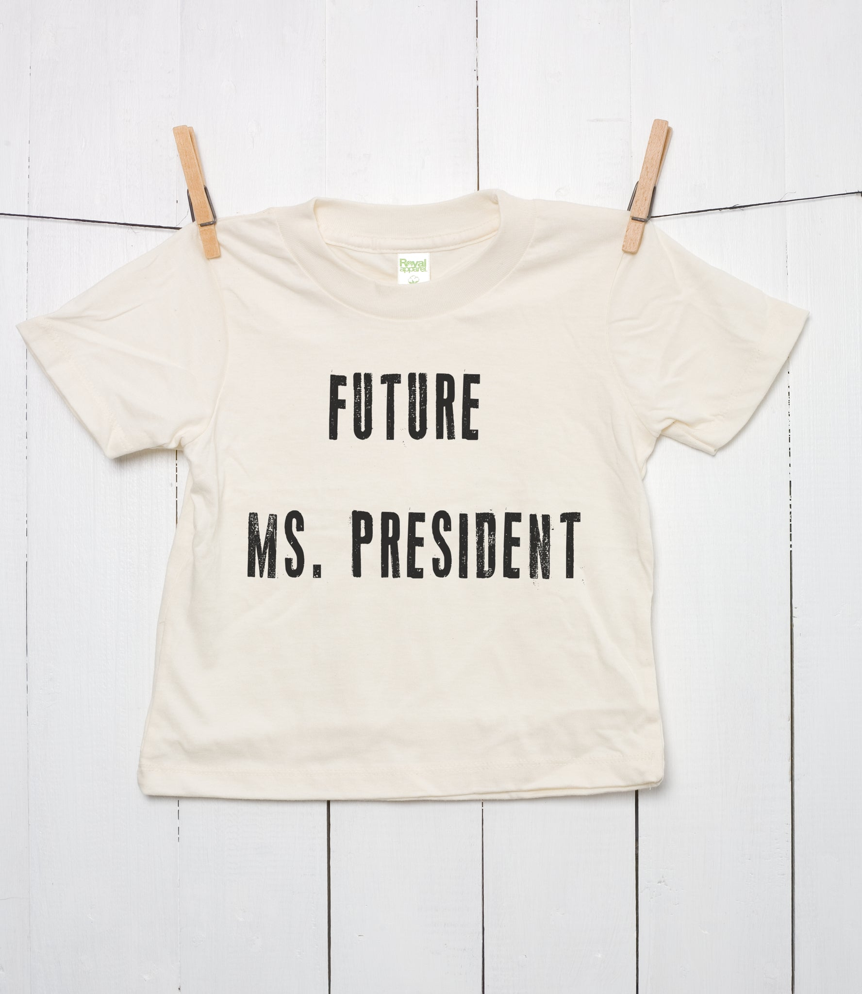Future Ms President Toddler Organic Cotton T Shirt