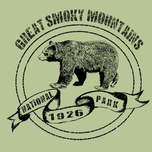 Great Smoky Mountains National Park Black Bear - Children's Organic Cotton T-Shirt