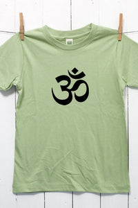 Om Children's Youth Organic Cotton T Shirt
