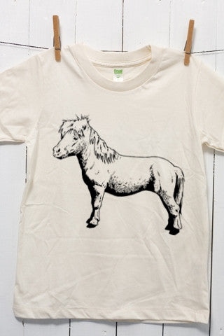 Pony Children's Youth Organic Cotton T Shirt