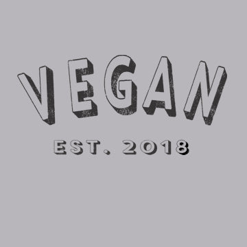 Vegan 2018 Women's T-Shirt Personalized with Year Established