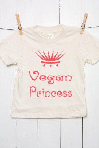 Vegan Princess - Organic Cotton Toddler T Shirt