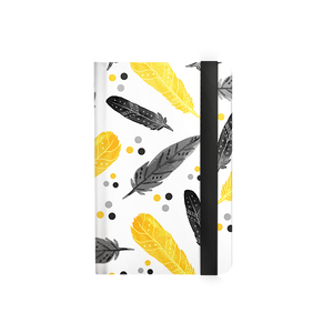 T3 - Reverse / Black & Yellow Feather