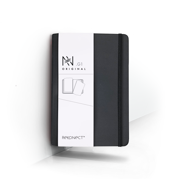 G1 - Black Magnetic Notebook