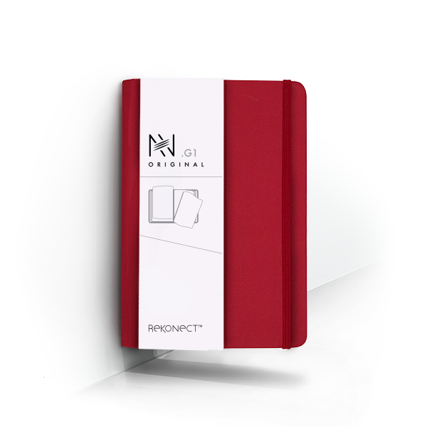 G1 - Red Magnetic Notebook