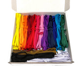 Job lot 15 colours elastic band elastic cord strap strings for mask accessories craft DIY or sewing