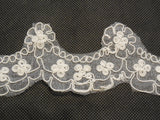 Ivory Bridal Wedding Floral lace trim / dress hemming lace trim Sold by Per Yard