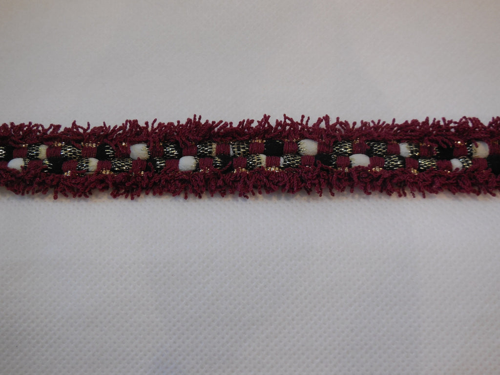 Braid trim edging sewing trim clothes trimming 2.5cm wide Sold by Per Yard 90cm