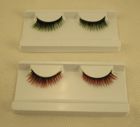 handmade false eyelashes Reusable party fashion eyelashes in 2 colours options