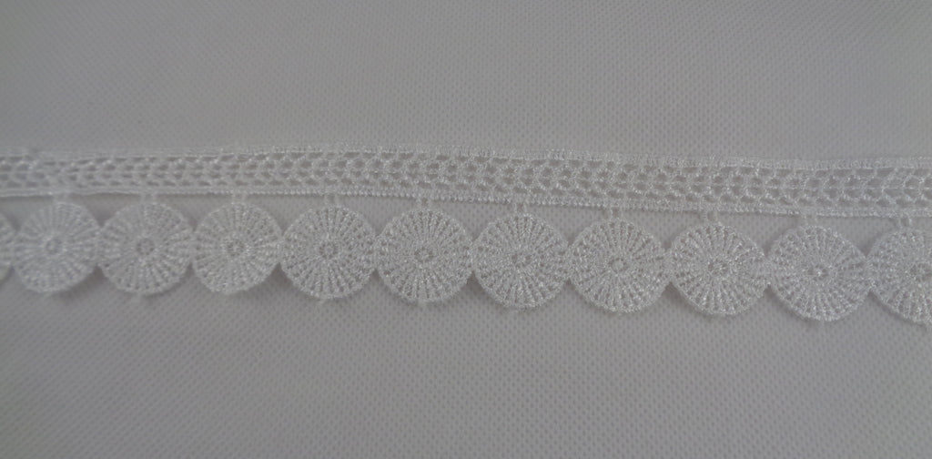 Black or ivory cotton lace trim dress sewing lace trimming fringe lace trim is for sale. sold by Yard 90cm