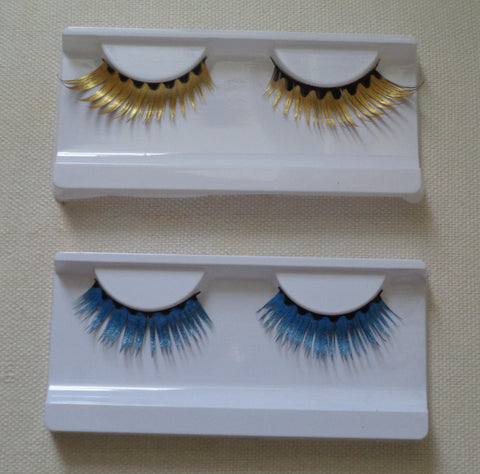 delicate party false eyelashes Reusable fashion fancy false eyelashes two colours options