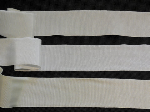 off white or white or ivory Double Faced Soft Petersham ribbon / bridal wedding sash is for sale. Sold by per yard.