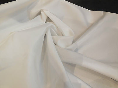 Light Ivory Soft Polyester Satin dress lining fabric 150cm wide. Per Meter