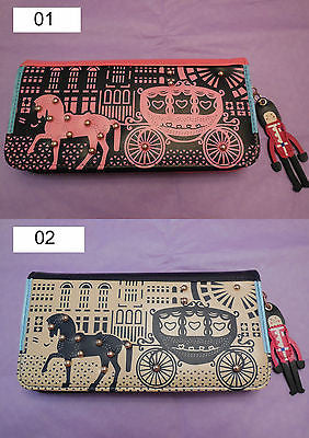 Gift idea Women Girls PU Clutch Wallet/Purse Handbag is for sale 2 colours
