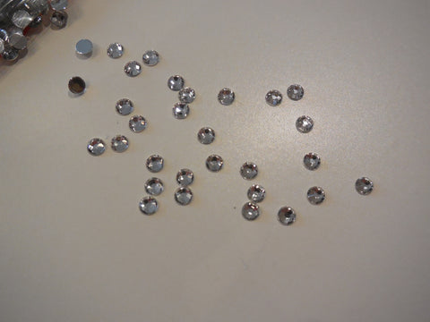 10g 4mm Crystal flat base glue on Rhinestones gems craft beads Any purpose diy