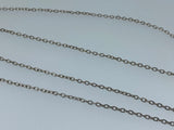 1Meter Nickel-plated chain hand craft necklace jewellery finding diy accessory