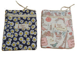 Hanging Cosmetic toiletry wash bag cotton travel organizer bag makeup wash bag various colours