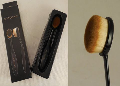 A multi-functional soft fibre hair facial cleansing brush foundation makeup brushes