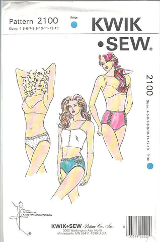 Kwik Sew - Misses Panties (2100)