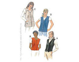 Kwik Sew - Misses Vests (2882)
