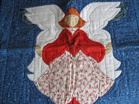 Quilters Angel Wallhanging - Store Sample