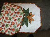 Placemats and Tablerunner - Store Samples - Desert Rose