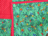 Baby Quilt - Bugs in Grass