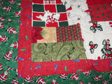 Full of Colour Christmas Quilt