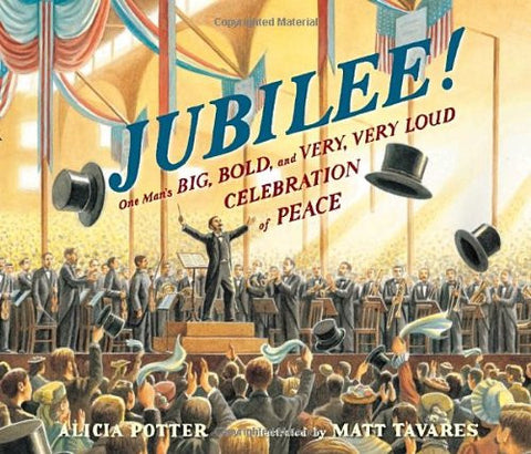 Jubilee!  One Man's BIG, BOLD, and VERY, VERY LOUD CELEBRATION of PEACE