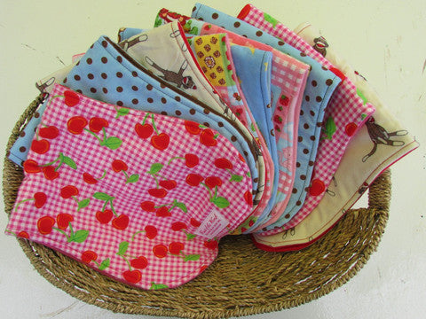 Product Showcase - Bibs and Burp Cloths!