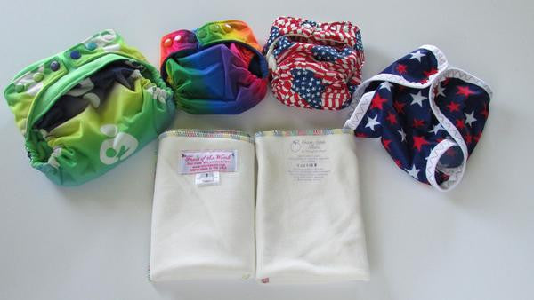 Product Showcase: Cloth Diaper Trial Package