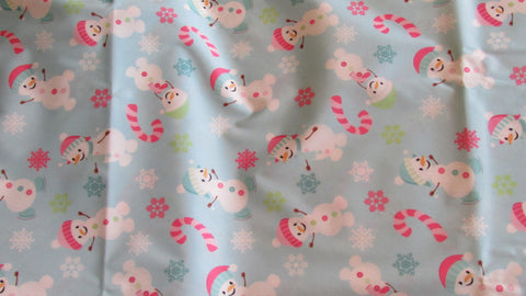 Happy Snowmen Diaper Cover-Fruit of the Womb Diapers