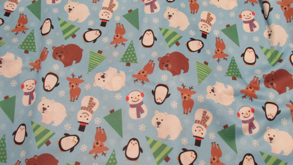 Winter Playland Diaper Cover
