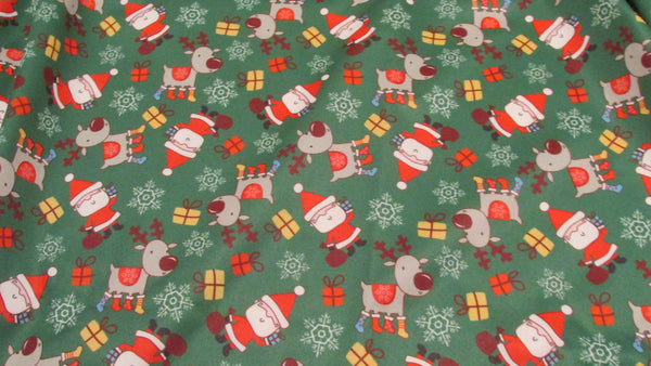 Santa and Reindeer Diaper Cover-Fruit of the Womb Diapers